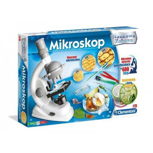 Mikroskop naukowa zabawa marki Clementoni