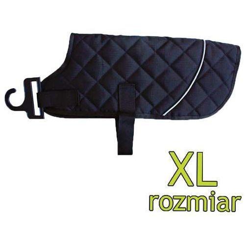 Pikowany kubrak dla psów Quilted Classic Black - Extra Large