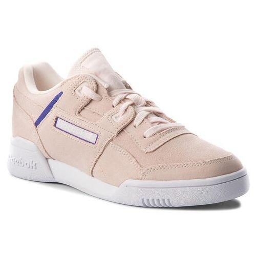 Reebok Buty - workout lo plus cn5524 pale pink/purple/white