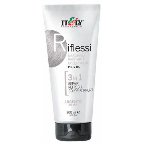 Itely Hairfashion RIFLESSI (SILVER) Maska regeneracyjna do odnawiania koloru włosów (srebrny)