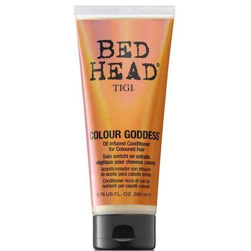 bed head colour goddess - odżywka do włosów farbowanych dla brunetek 200 ml marki Tigi