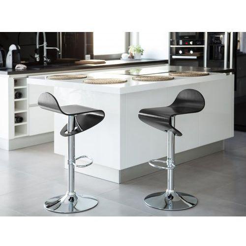 Beliani Hoker czarny - hoker barowy - krzesło barowe -liverpool (7081451583314)