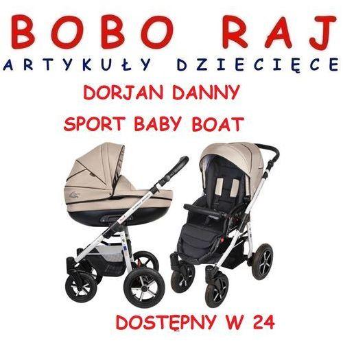 WÓZEK DZIECIĘCY WIELOFUNKCYJNY FIRMY DORJAN DANNY SPORT BABY BOAT (3w1) WYSYŁKA 24H z kategorii wózki wielofunkcyjne