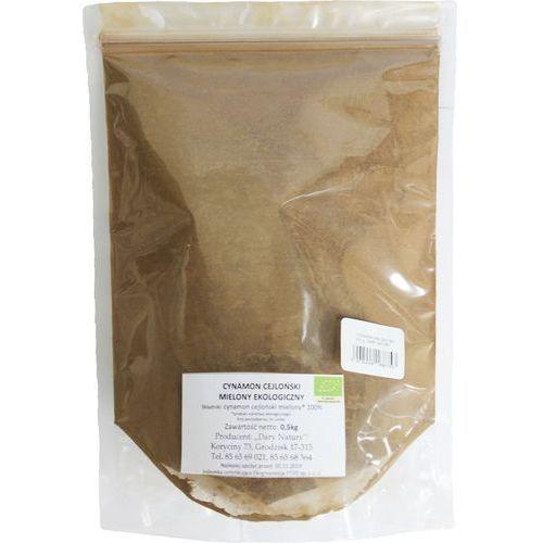 Horeca - pozostałe Cynamon cejloński mielony bio 500 g horeca dary natury