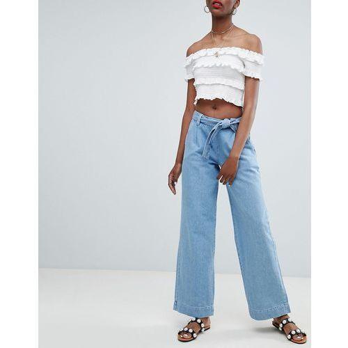 wide leg jeans - blue marki New look
