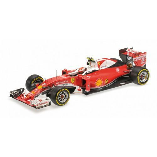 Ferrari SF16-H Scuderia Ferrari #7 Kimi Raikkonen Australian GP 2016 (BBR exclusive) (8056646715862)