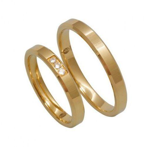 Łazur Obrączki ślubne  model k17 (komplet), kategoria: obrączki ślubne
