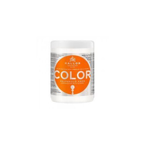 kjmn color, maska do włosów farbowanych, 1000ml marki Kallos