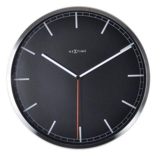 Zegar ścienny Company 35 cm czarny, kolor czarny