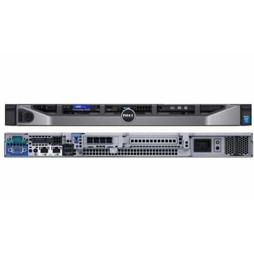 Serwer Dell PowerEdge R230 E3-1230v5/8GB/2x1TB/S130/ 3Y NBD