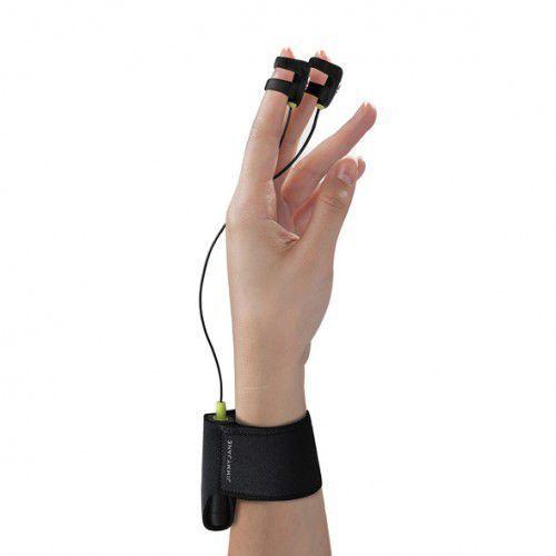 Wibrator na palce z elektrostymulacją -  hello touch finger vibrator x black od producenta Jimmyjane