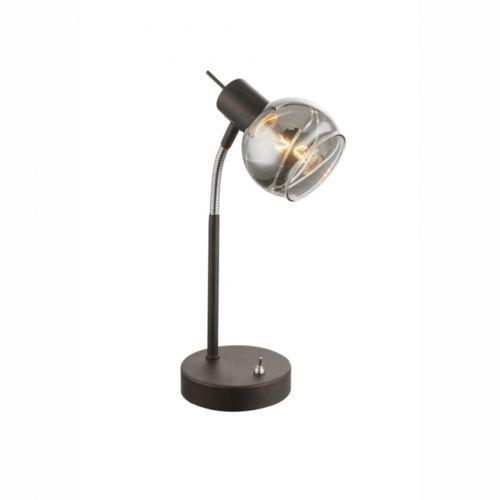 Globo lighting Globo isla lampa stołowa led brązowy, 1-punktowy - nowoczesny/design - obszar wewnętrzny - isla - czas dostawy: od 2-3 tygodni