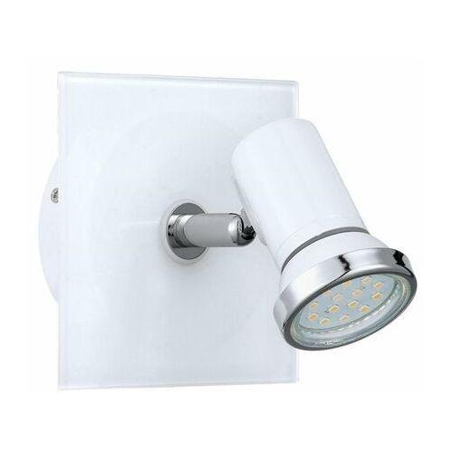TAMARA-Reflektorek do łazienki nastawna Stal & Szkło Dł.12cm (9002759312626)
