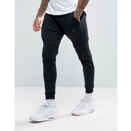 4d3dbe814 Spodnie męskie · Nike tech fleece slim fit joggers in black - black