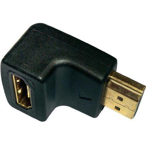 Inakustik Przejściówka, adapter kątowy hdmi  0090201002 90201002, [1x złącze żeńskie hdmi - 1x złącze żeńskie hdmi] (4001985503490)