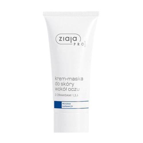 OKAZJA - Ziaja pro krem-maska do skóry wokół oczu z ceramidami program naprawczy (01420)