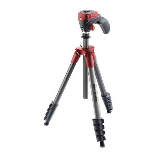 Statyw MANFROTTO Compact Action Czerwony