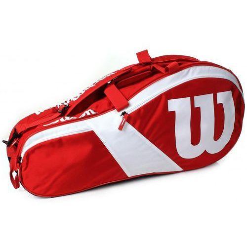 Wilson match iii 6pack bag red white