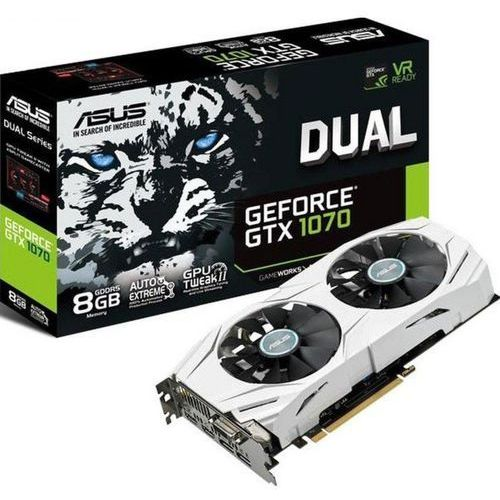 Asus  geforce gtx 1070 8gb 256bit dual