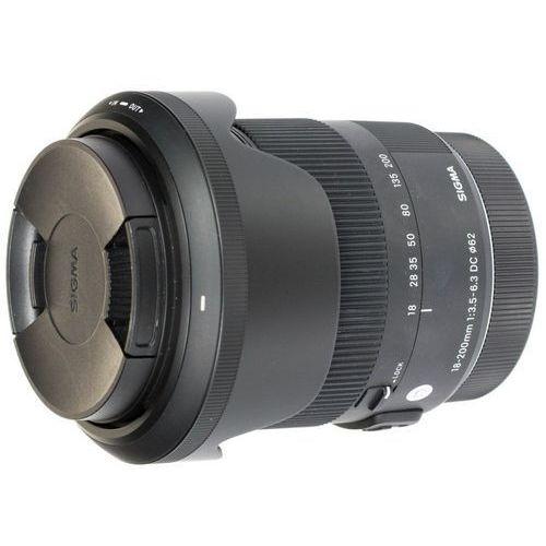 Sigma C 18-200 mm f/3.5-f/6.3 DC Macro OS HSM / Canon - powystawowy - sprawdź w wybranym sklepie