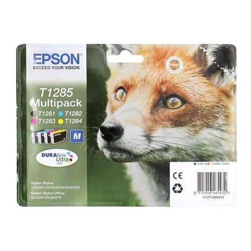 Epson Zestaw tuszy t1285 - 4 tusze do drukarek (oryginalny) [4 x 16.4 ml]