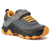 Sneakersy GEOX - J Magnetar B. Wpf A J94ACA 050BU C0054 S Black/Yellow, kolor szary