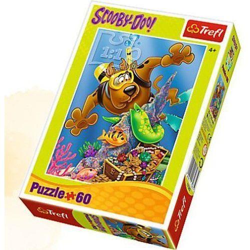 Trefl Puzzle 17287 scooby-doo nurkowanie (60 elementów)