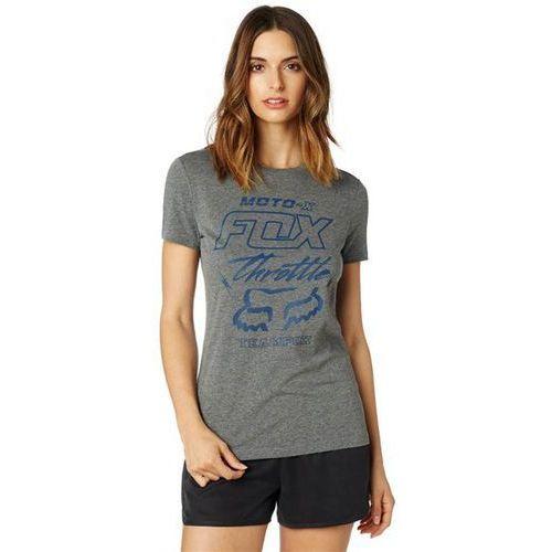 koszulka FOX - Throttle Maniac SS Crew Tee Heather Graphic (185) rozmiar: L