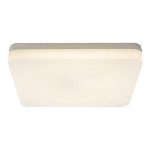 Plafon led halli kwadratowy 4000 k 28 cm biały z czujnikiem ruchu marki Colours