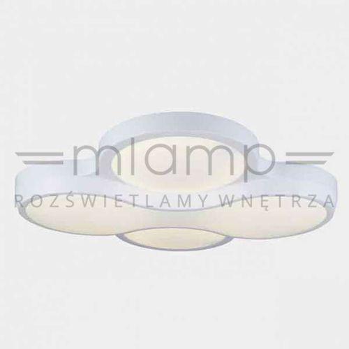 LAMPA sufitowa PUZZLE mini Orlicki Design futurystyczna OPRAWA plafon LED 56W biały (1000000280630)