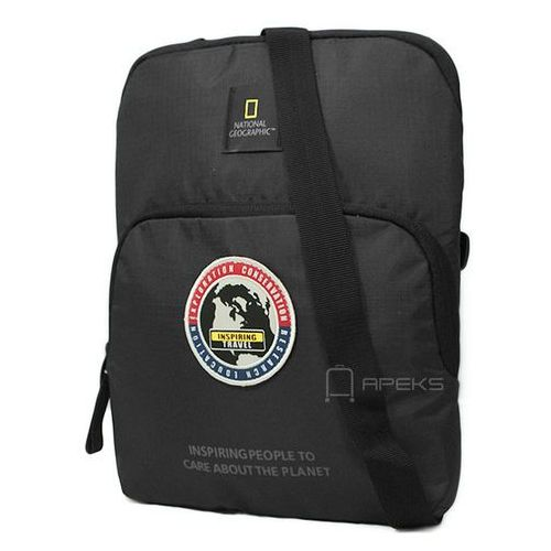 """National Geographic EXPLORER torba na ramię / saszetka / tablet do 10"""" / N01112.06 - czarny, kolor czarny"""