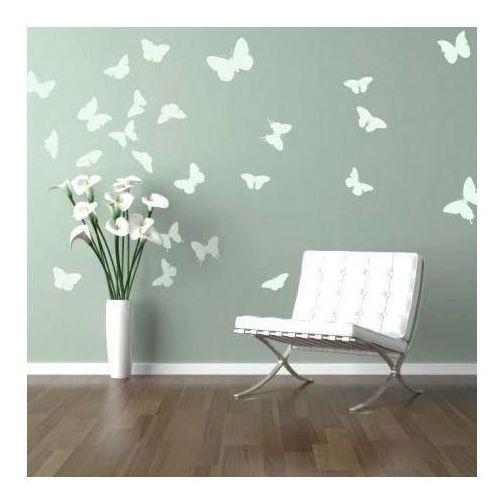 Naklejka welurowa zestaw motyle 1127 marki Wally - piękno dekoracji