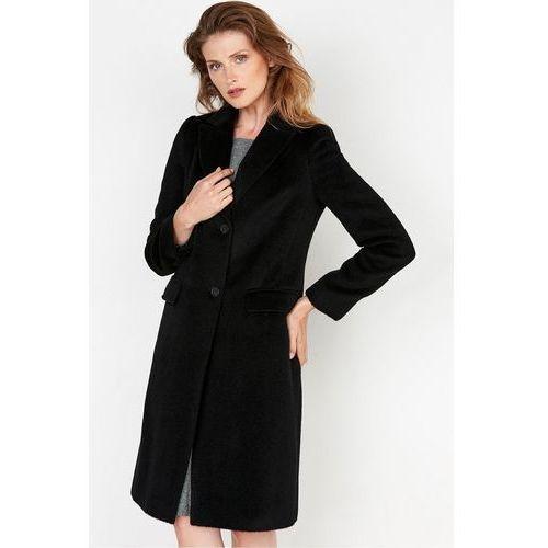 Klasyczny płaszcz z wełny dziewiczej - marki Patrizia aryton