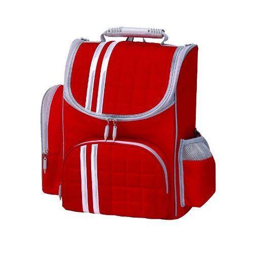 Tornister plecak 6-9lat tiger family+śniadaniówka - czerwony marki Titanum