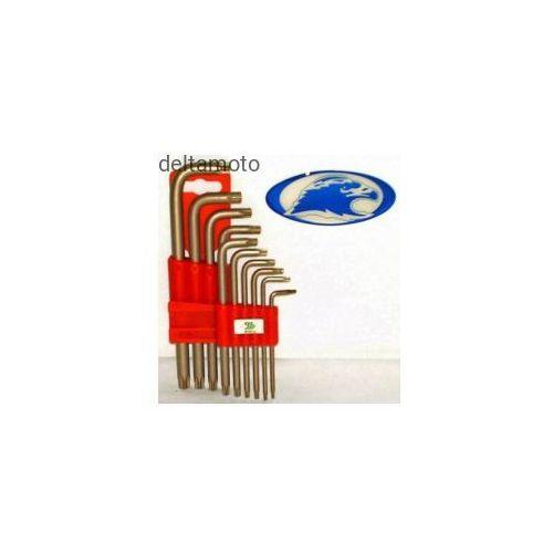 Zestaw kluczy imbusowych typu torx – 10 szt., 650101