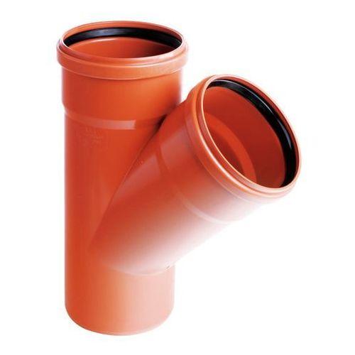 Pipelife Trójnik pcv 200 x 200 mm 45° (5905485421461)