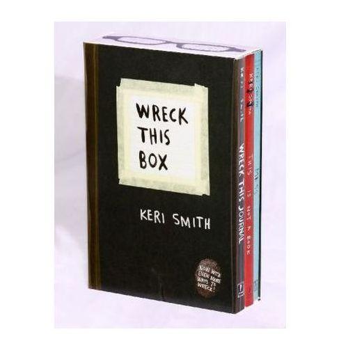 Wreck This Box. Mach dieses Buch fertig; Das ist mehr als ein Buch, englische Ausgabe (9780399163739)