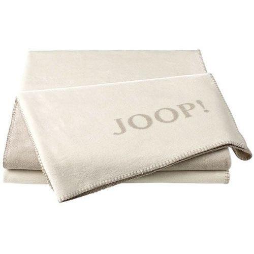 JOOP! koc Uni-Doubleface 150x200 cm, kremowy, kolor beżowy