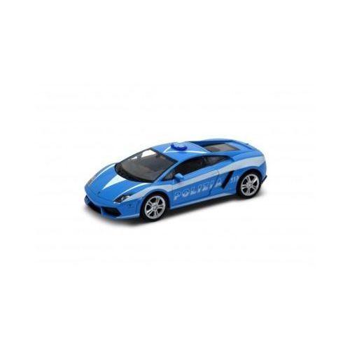 Lamborghini gallardo lp5 60-4, polizia 1/34 - darmowa dostawa od 199 zł!!! marki Welly