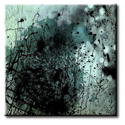 """obrazy nowoczesne """"grafitowe abstrakcje HIT"""