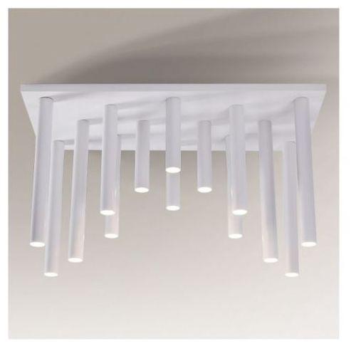 Shilo Plafon lampa sufitowa yabu 1168/gu10/bi metalowa oprawa sople tuby białe (1000000245103)