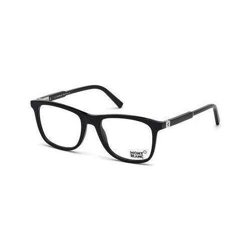 Okulary korekcyjne  mb0637 001 marki Mont blanc