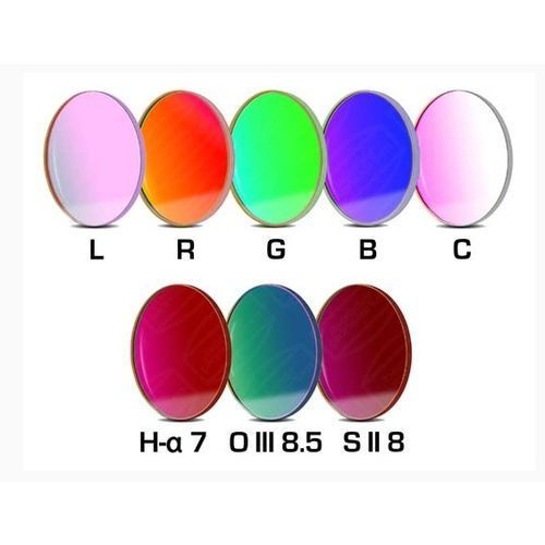 Zestaw filtrów Baader LRGBC z filtrami wąskapasmowymi CCD 36mm z kategorii Filtry fotograficzne