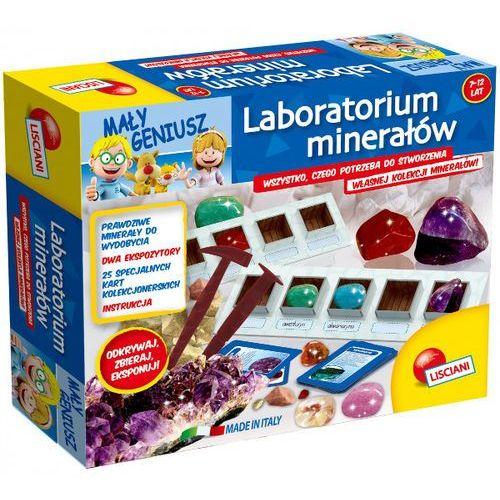 laboratorium minerałów mały geniusz marki Liscianigiochi