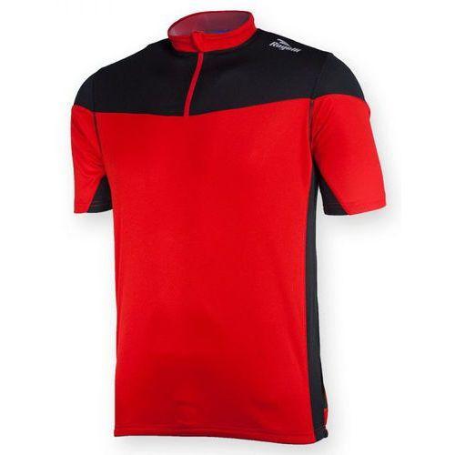 Koszulka mazzin czerwono czarna marki Rogelli
