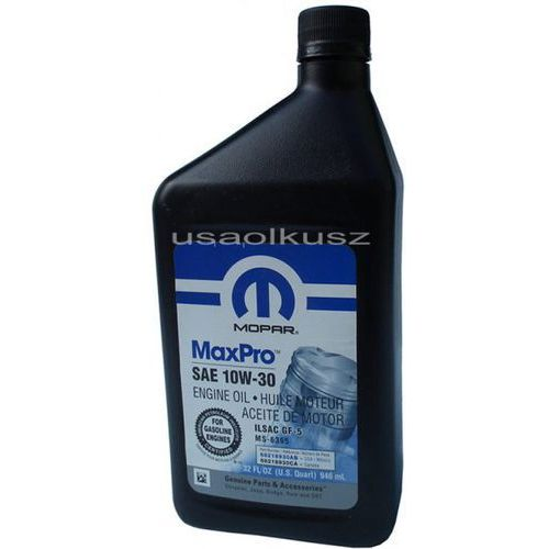 Olej silnikowy 10w30 gf-5 ms-6395 0,946l marki Mopar