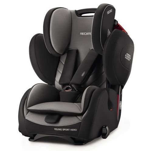 Fotelik samochodowy RECARO Young Sport Hero carbon black, 9-36 kg