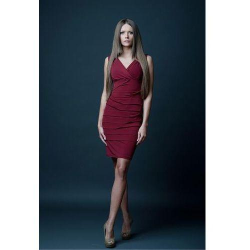 Sukienka Model Margo Bordo