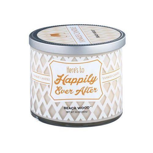 Yankee Candle Beach Wood świeczka zapachowa 283 g (Here´s to Happily Ever After) + do każdego zamówienia upominek.