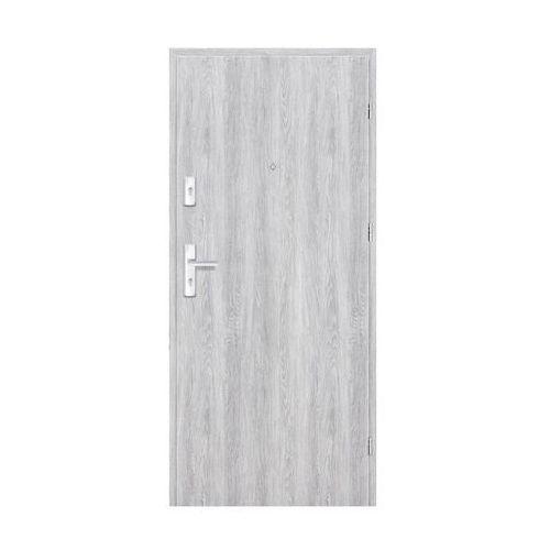 Nawadoor Drzwi wejściowe grafen dąb srebrny 80 prawe